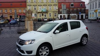 Dacia Sandero pro odlehčovací službu