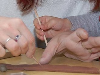 Keramická dílna pro rodiče s dětmi