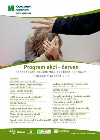 Program akcí T-klub - červen.2017