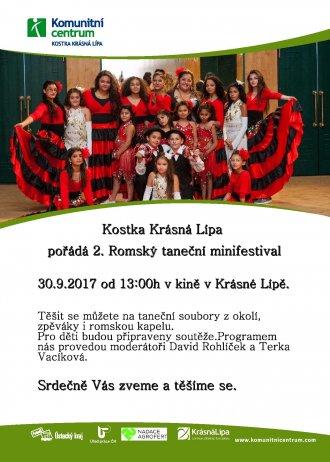 Kostka Krásná Lípa pořádá 2. Romský taneční minifestival