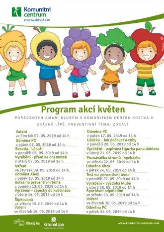 Program akcí Amari klubu - květen 2019