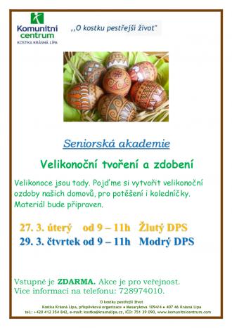 Velikonoční tvoření a zdobení
