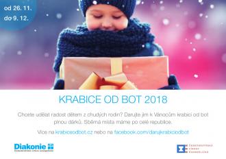 Krabice od bot 2018